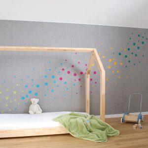 Plstena stena detska izba